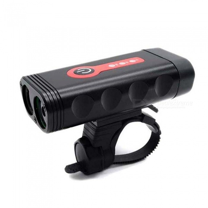 AIBBER-TONE-Bike-Light-2-LED-Bicycle-Cycling-Light-USB-Rechargeable-Bike-Front-Light-Headlight