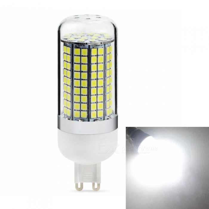 Sencart G9 8W 800LM SMD Cold White Energy Saving LED Light Blub Lamp, AC110V-130VG9<br>Emitting ColorCold WhitePower SupplyAC110V-130VModel180 LEDMaterialABS+LED+PCBForm  ColorWhiteQuantity1 piecePower8WRated VoltageAC 110-130 VConnector TypeG9Chip BrandEpistarChip Type2835Emitter TypeOthers,2835SMDTotal Emitters180Theoretical Lumens1200 lumensActual Lumens800 lumensColor Temperature6500KDimmableNoBeam Angle360 °Packing List1 x LED Light Blub<br>