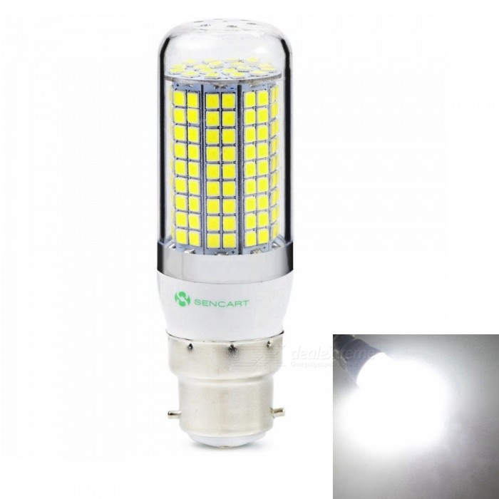 Sencart B22 8W 800LM SMD Cold White Energy Saving LED Light Blub Lamp, AC220-240VOther Connector Bulbs<br>Emitting ColorCold WhitePower SupplyAC220-240VModel180 LEDMaterialABS+LED+PCBForm  ColorWhiteQuantity1 piecePower8WRated VoltageAC 220-240 VConnector TypeB22Chip Type2835Emitter TypeOthers,2835SMDTotal Emitters180Theoretical Lumens1200 lumensActual Lumens800 lumensColor Temperature6500KDimmableNoBeam Angle360 °Packing List1 x LED Light Blub<br>