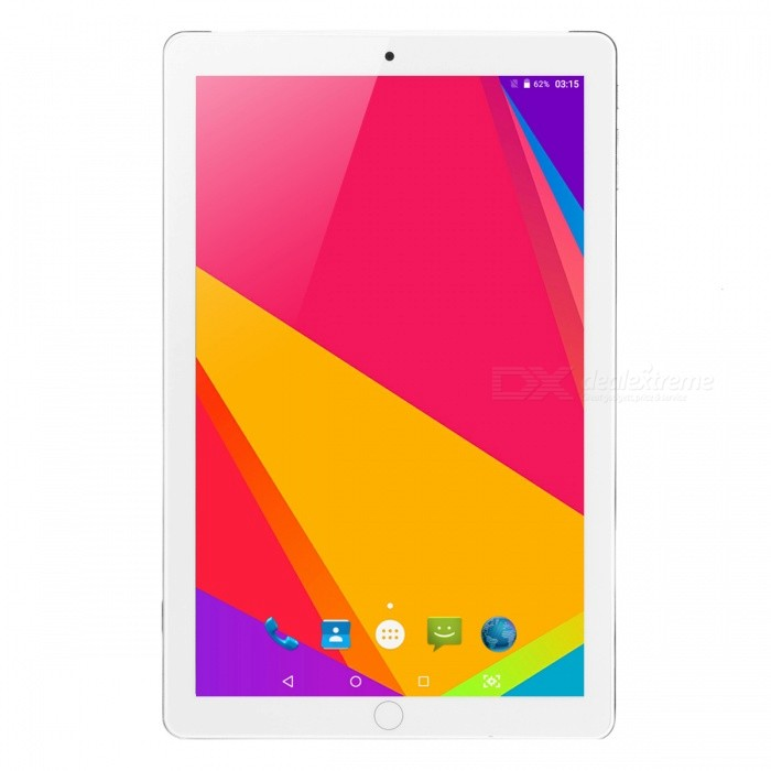 10.1 Quad-Core 3G Tablet PC with 1GB RAM, 16GB ROM - GoldenAndroid Tablets<br>ColorGoldenBrandOthersQuantity1 pieceMaterialFull Metal JacketProcessor BrandOthers,MTK6582Processor ModelOthers,MTK6582Processor Speed1.5 GHzNumber of CoresQuad CoreGPUMali-400MPRAM/Memory TypeDDR1 SDRAMBuilt-in Memory / RAM1GBCapacity / ROM16GBScreen Size10.1 inchesScreen Size9 inches~10.1 inchesScreen TypeIPSTouch TypeResistive screen,Capacitive screenResolution1280 x 800Touch Point5-point Capacitive Touch Screen3G TypeWCDMACompatible ModelNO3G Frequency Range850,21003G Function3G Phone call,YesOperating SystemAndroid 6.02G Frequency Range850/900/1800/1900Supported NetworkWifi,Built-in 3G,2G Phone Call,Bluetooth,GPSGPSYesWi-Fi StandardIEEE 802.11 b/g/nBluetooth VersionBluetooth V4.0Built-in SpeakersYesInterface1 x 3.5mm,1 x micro USB,1 x TFGoogle Play(Android Market)YesCamera type2 x CamerasFront Camera Pixels0.3 MPBack Camera Pixels2.0 MPButtonSound,PowerExternal Memory Max. Support32 GBMicrophone JackYesPower AdapterEU PlugSupported LanguagesEnglish,French,German,Italian,Spanish,Portuguese,Russian,Vietnamese,Polish,Greek,Danish,Norwegian,Dutch,Arabic,Turkey,Japanese,Bahasa Indonesia,Korean,Thai,Maltese,Hungarian,Latin,Persian,Malay,Slovak,Czech,Romanian,Swedish,Finnish,Simplified Chinese,Traditional Chinese,Bulgarian,Norwegian,HebrewBattery Capacity5000 mAhBattery TypeLi-ion batteryWorking Time8 hoursStandby Time3 daysPacking List1 x Tablet PC1 x Data line1 x OTG line1 x EU Plug charger1 x Instruction<br>