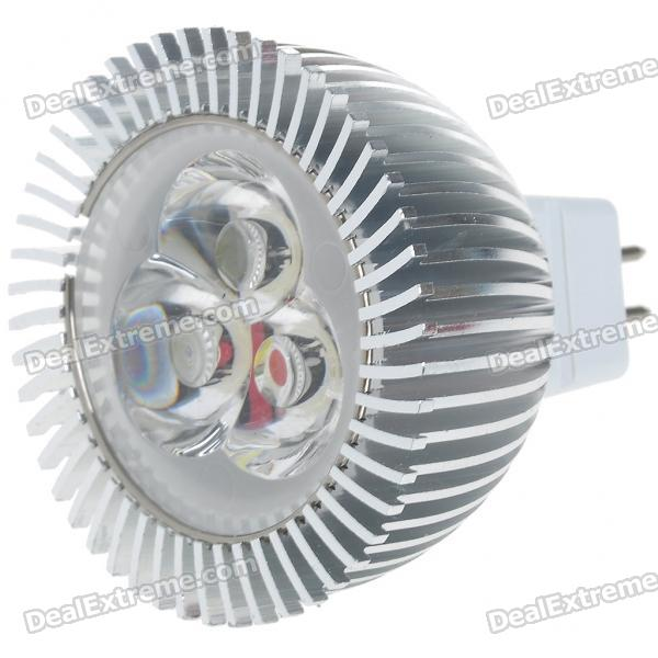 G5.3 3W 270lm 6500K Cold White Light 3-LED Cup Bulb (8~26V)