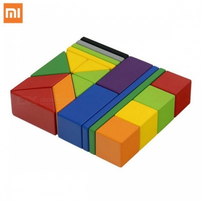 Original Xiaomi Mitu Magnetic Building Blocks Toy Set, Eco-friendly Paint Creativity Colorful Bricks Educational Toy for Childen