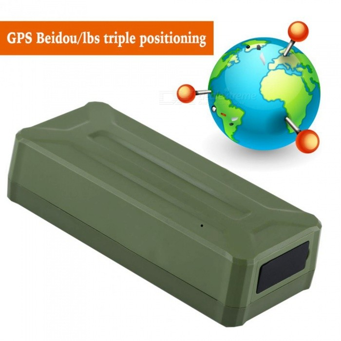 Waterproof Car GPS GSM GPRS Tracker Locator Device, Real-Time Tracking System with Strong MagnetVehicle Tracking Systems<br>ColorGreenModelGT13CQuantity1 setMaterialABSNetworkGSM,GPRSBand850MHz,900MHz,1800MHz,1900MHzSIM Card Qty.one SIMSupported LanguagesOthersPosition Accuracy5-10MGeo-fenceYesVibrating AlertsYesRemote MonitoringYesEngine Cut OffYesRealtime MonitoringYesTrack PlaybackYesOverspeed AlertsYesPacking List1 x GPS Tracker1 x USB Cable1 x Charger1 x User Manual<br>