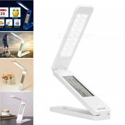 AIBBER TONE USB Charging Portable Eye Protection Folding Reading Lamp for Bedroom