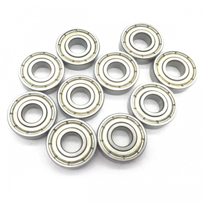 RXDZ 6x15x5 mm Skateboard Bearings Steel Miniature Deep Groove Ball Bearing 696Z/696ZZ for Model - 20PCSDIY Parts &amp; Components<br>ColorSilverModel699Z/696ZZQuantity20 pieceMaterialMetalEnglish Manual / SpecNoCertificationNOPacking List20 x Ball Bearings<br>