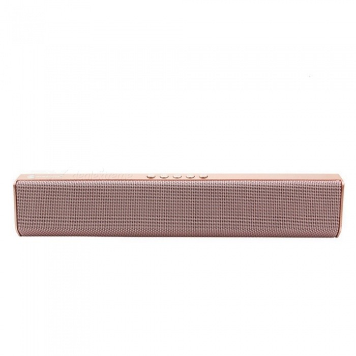 JEDX NR1500 Bluetooth Speaker, Support U Disk / TF Card / Aux-in / FM for IPHONE Samsung Huawei Etc - PinkBluetooth Speakers<br>ColorPinkModelNR1500MaterialPlasticQuantity1 setShade Of ColorPinkBluetooth HandsfreeYesBluetooth VersionBluetooth V2.1Operating Range10 metersPacking List1 x NR1500 Bluetooth Speaker Support U Disk / TF Card / Aux-in / FM1 x USB Cable1 x Audio Cable(Phone not included)<br>