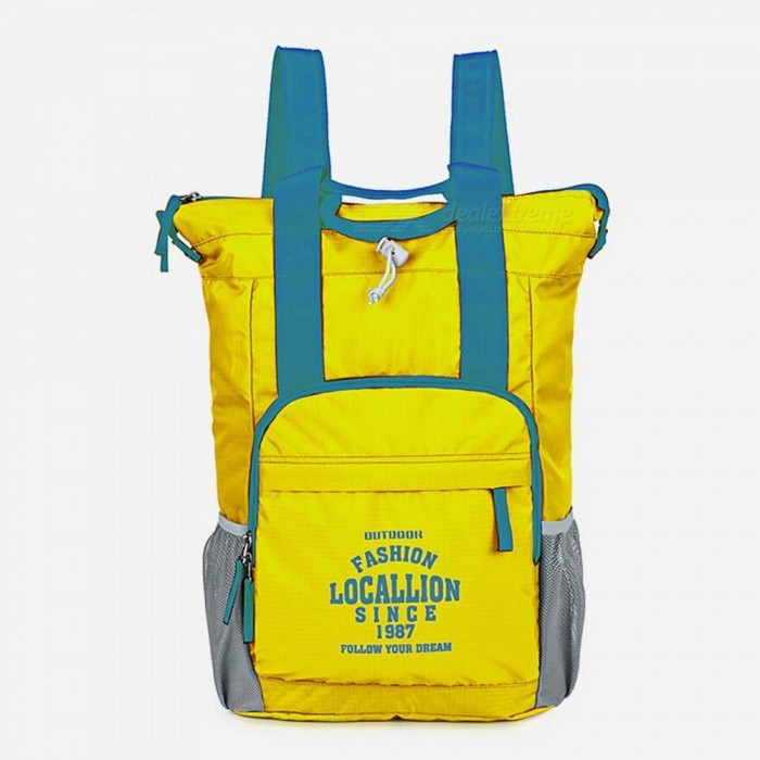 LOCAL LION 566 Multi-function Outdoor Backpack Waterproof Ultra-light 20L Portable Sports Bag - Yellow