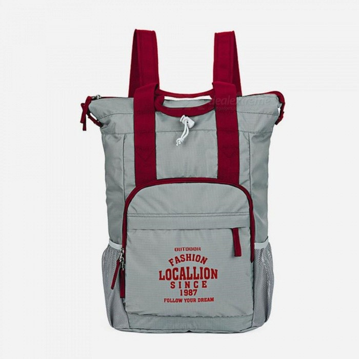 LOCAL LION 566 Multi-function Outdoor Backpack Waterproof Ultra-light 20L Portable Sports Bag - Dark GreyColorDark grayModel566Quantity1 pieceMaterialPolyesterSizeOthers,43*29*14.5cmCapacity20LCapacity Range0L~20LRaincover includedNoGenderMenBest UseTravelPacking List1 x Backpack<br>