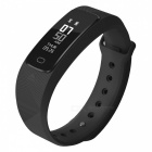SMA B2 USB Charging Smart Watch Bracelet with Hear Rate Monitor - Black