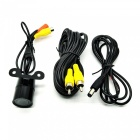 E326 Vehicle Rear Sight Waterproof Video Camera with 9-LED Night Vision (DC 12V/NTSC)