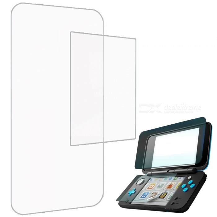 Kitbon Full Coverage High Definition Screen Protector for Nintendo 2DS XL / LL