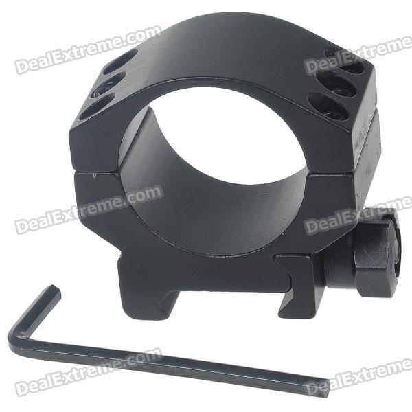 Aluminum Alloy Bracket Mount w/ Hex Wrench for M16 Gun - Black (30MM)