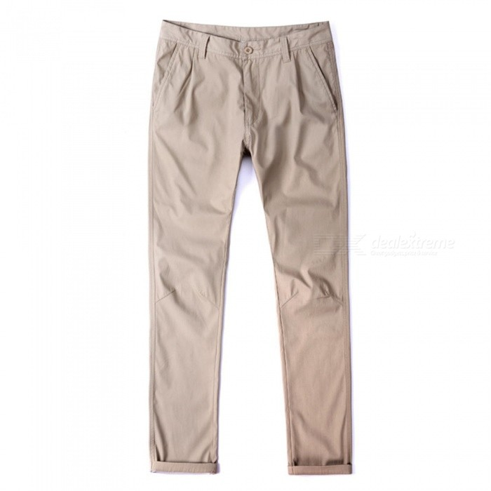 CTSmart 1682 Spring Summer Mens Casual Outdoor Slim Thin Quick-Dry Pants Trousers - Khaki (36)Pants and Shorts<br>ColorkhakiSize36Model1682Quantity1 pieceShade Of ColorBrownMaterialcottonStyleSportsWaist Girth98 cmInseam81 cmHip Girth120 cmTotal Length84 cmPacking List1 x Pants<br>