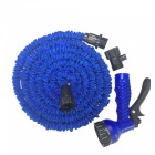 CARKING-New-Latex-Garden-Water-Hose-15m-Expanding-Flexible-Water-Gun-Car-Wash-with-Spray-Nozzle-Blue