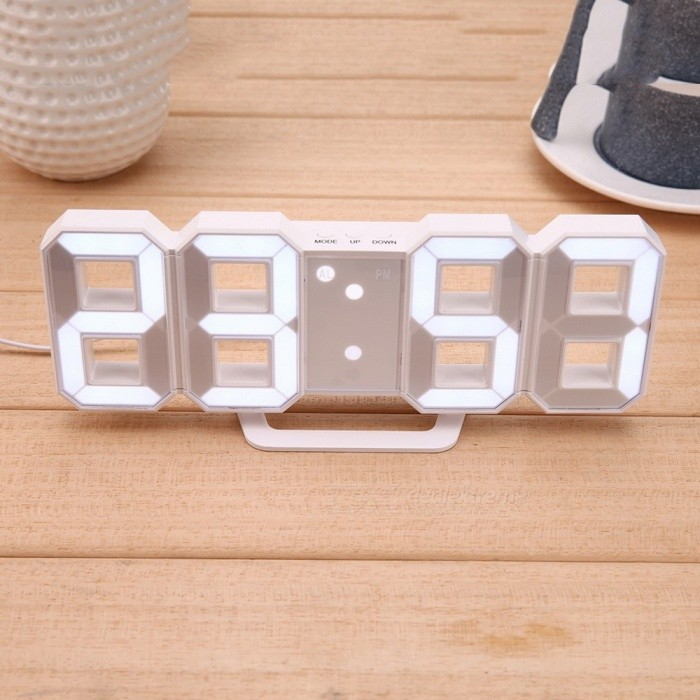 8-Shaped-USB-Digital-Table-Clocks-Wall-Clock-LED-Display-Creative-Watches-2412-Hour-Display-Home-Decoration-Christmas-Gift-White