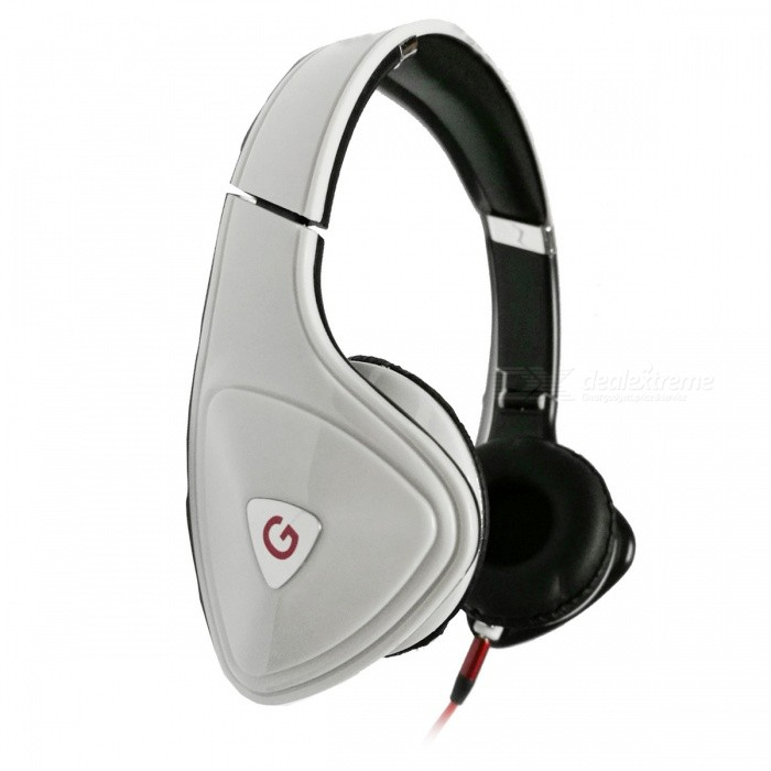 OJADE 3.5mm Wired On-Ear Bass Stereo Folding Headphone with Microphone - WhiteHeadphones<br>ColorWhiteBrandOthers,OJADEMaterialABSQuantity1 DX.PCM.Model.AttributeModel.UnitConnection3.5mm WiredBluetooth VersionNoHeadphone StyleHeadbandWaterproof LevelOthersApplicable ProductsUniversalHeadphone FeaturesWith Microphone,PortableSupport Memory CardNoSupport Apt-XNoPacking List1 x Headset<br>