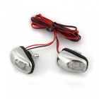Qook V433 Car Windshield Water Spray Light White Light Decoration Lamp