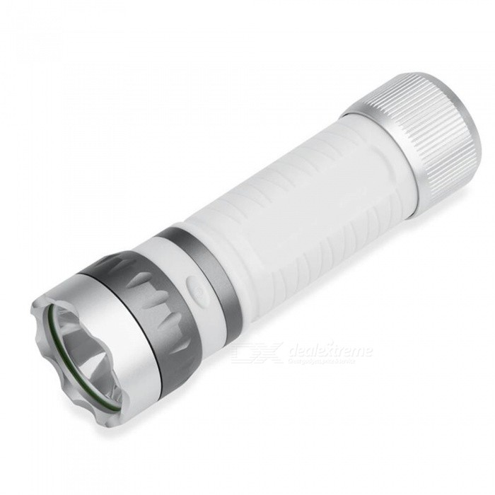 CTSmar BF01 Multipurpose USB Rechargeable Ultra Bright Riding Lamp Flashlight Camping Light - White