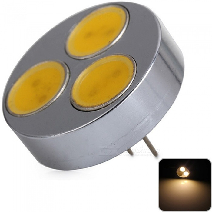 Sencart Round G4 Cob 3smd Led Bulbs Car Marine Rv Camper Home Lamp Spot Light Dc 12v Free Shipping Dealextreme