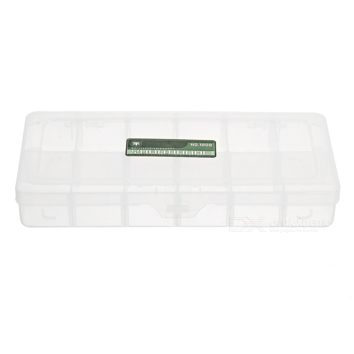 Buy DIY Parts Organizer Toolbox (12 Configurable Sections) with Litecoins with Free Shipping on Gipsybee.com