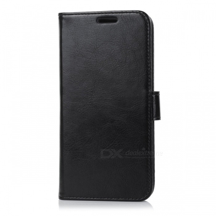 Protective PU Leather Case for Oneplus 5 - Black