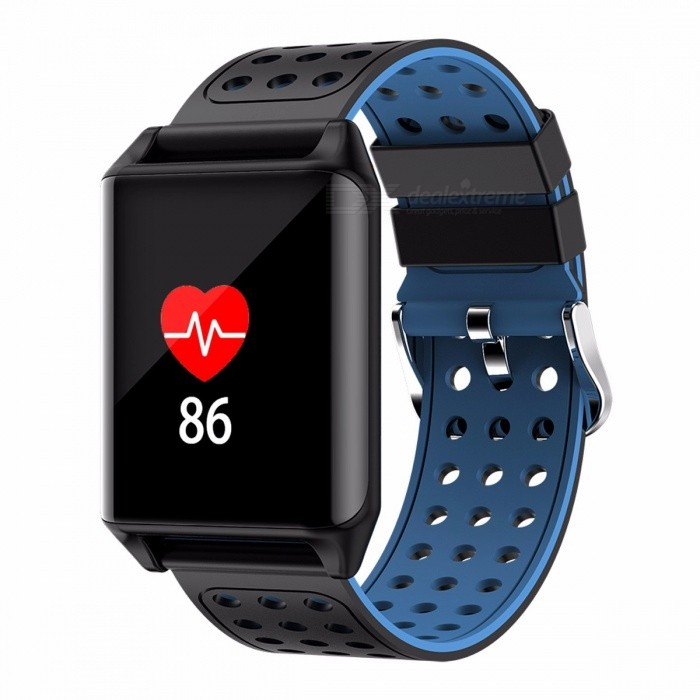 SENBONO M7 Colorful OLED Screen Sports Smart Band IP67 Waterproof  Support Heart Rate Blood Pressure Predometer Blue