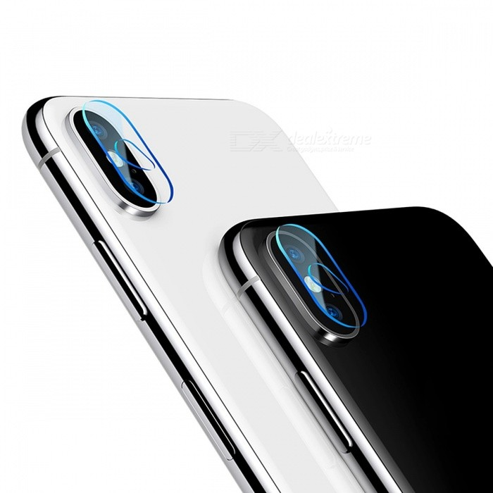 Baseus 0.15mm Tempered Glass Lens Protector For IPHONE X Camera Len Glass Film Back Lens Protection Film 9H Glass For iPhone X/Transparent