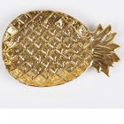 Nordic-Style-Ceramic-Pineapple-Shaped-Jewelry-Storage-Tray-Cake-Fruit-Dish-Plate-Golden