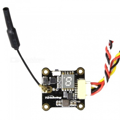 TURBOWING  CYCLOPS TX17128 0/25/200mW Transmitter Module with Smart Audio, Size 25*25mm