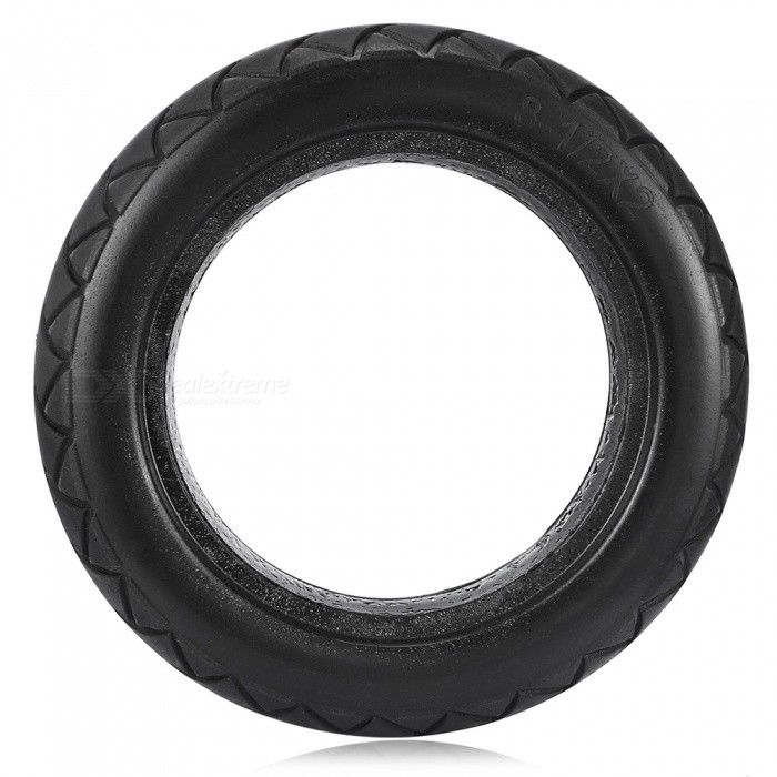Millet Electric Scooter Tires for Xiaomi M365 Scooter and More - BlackColorBlackQuantity1 pieceMaterialwear-resistant rubberPacking List1 x Scooter Tire<br>