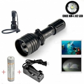 ARCHON-D10U-Aluminum-Alloy-Waterproof-XM-L-U2-860LM-60m-Zoomable-Diving-LED-Flashlight-Torch-for-Outdoor-Sports