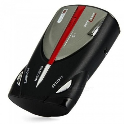 XRS9880 Ultra-High Performance Car-Radar/Laser Detector by PEARL FANTASIA, Voice Alert Warning and Car Speed Alarm System