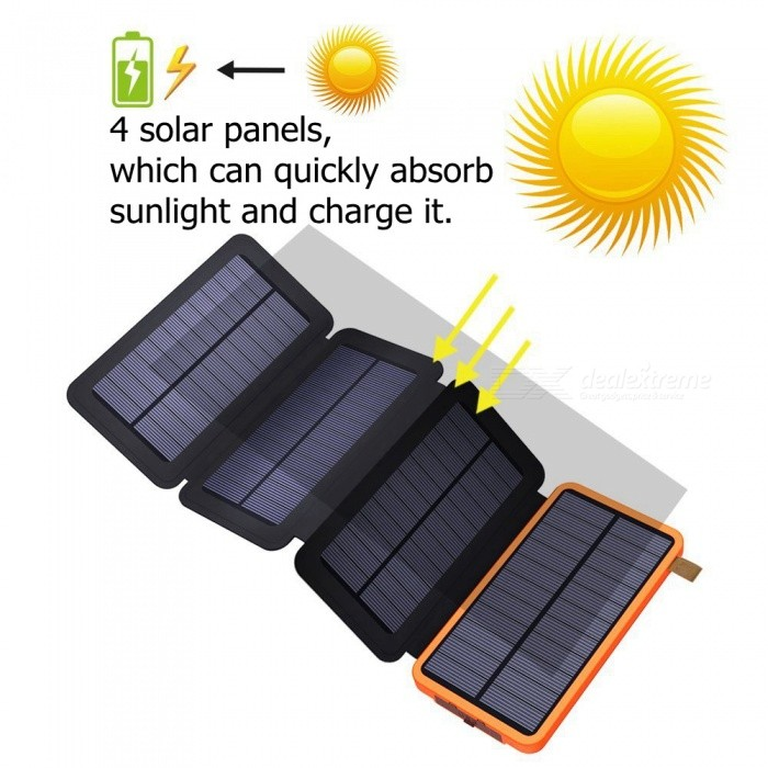 ZHAOYAO-12000mAh-DC-5V-Dual-USB-Solar-Power-Bank-Charger-with-2835SMD-9LEDs-White-Light