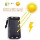 ZHAOYAO-10000mAh-DC-5V-Solar-Powered-Mobile-Power-Bank-Dual-USB-Output-with-White-Emergency-Light-Flashlight-Compass-White
