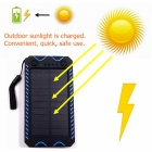ZHAOYAO-10000mAh-DC-5V-Solar-Powered-Mobile-Power-Bank-Dual-USB-Output-with-White-Emergency-Light-Flashlight-Compass-Blue
