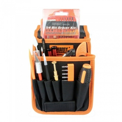 JAKEMY 84-in-1 Portable DIY Repair Toolbox Screwdriver Set Tools for Opening Mobile Phone PC