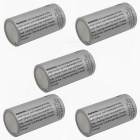 3.0V 700mAh RL123 Rechargeable Battery for Camera / Flashlight / Night Vision (5 PCS)