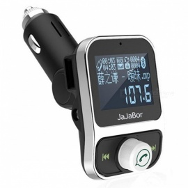 Dual-USB-Car-Kit-Bluetooth-MP3-Player-Phone-Charger-Wireless-FM-Transmitter-Modulator-with-LCD-Display