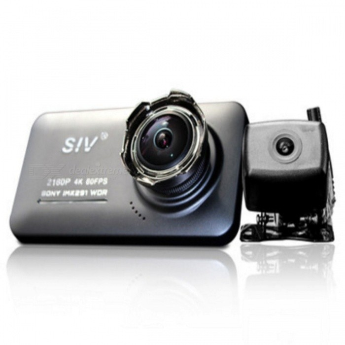 HD Panoramic Night Vision Car Rear View Camera DVR with Image 2160P 4K HD Star Dual Sony Lens