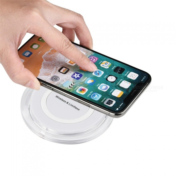 iphone wireless charging pad fast wireless charger stand qi charging pad for samsung 9571