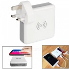 3-in-1-Wireless-Mobile-Phone-USB-Charger-Adapter-Power-Bank-(UK-Plug)