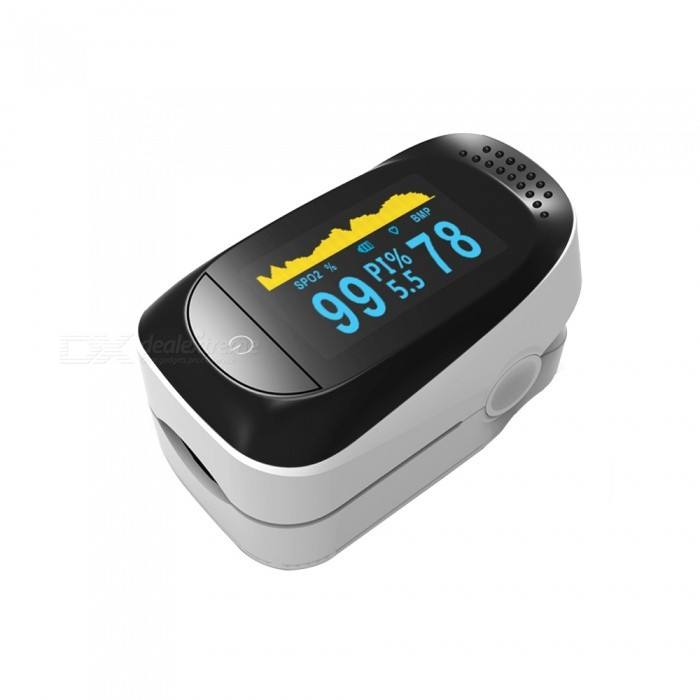 Home-096-inch-H2-OLED-Display-Portable-Fingertip-Oximeter-Heart-Rate-Detector-White-2b-Black-(2-x-AAA)