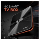 S10 android 7.1 HD 4K smart TV-boks med 3 GB RAM, 64 GB ROM (EU-plugg)