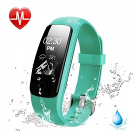 Measy ID107 Plus HR Smart Bracelet with Heart Rate Monitor, Multi Sports Cardio Fitness Guided Breathing Tracker