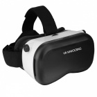 Portable Head-Mounted VR Glasses, Virtual Reality 3D Glasses for IPHONE, Samsung and Other Smart Phones