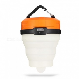 DT-926-Outdoor-Camping-Mini-Silicone-Foldable-Retractable-Waterproof-LED-Tent-Orange