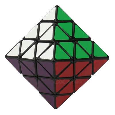 QiYi 70mm LanLan 8 Face 8-axis Octahedron Twisty Cube, Magic Puzzle Anti-anxiety Toy