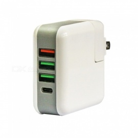 25W-5A-QC30-3-Port-USB-Type-C-Smart-Quick-Charger