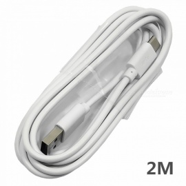 2m USB3.1 Type-C to USB2.0 Charging Date Line Cable for Samsung / Huawei / Xiaomi - White