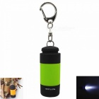 Mini USB Rechargeable Portable Outdoor LED Flashlight Torch for Camping / Travel - Green
